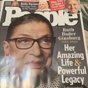 People magazine collectible RBG Oct 5, 2020